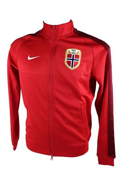 Nike Norge N98 Authentic Jakke Rød
