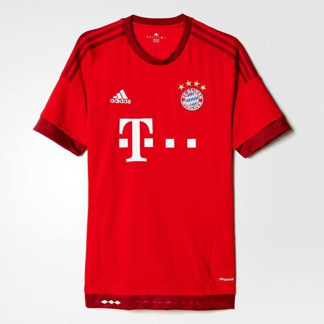Bilde av FC Bayern München Hjemmedrakt 2015/16 Voksen