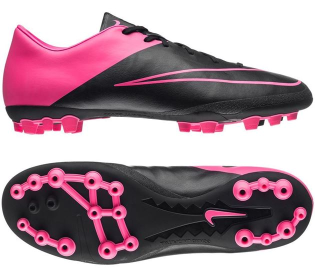 new product 11be1 02e9c Nike Mercurial Victory V AG-R Svart/Rosa