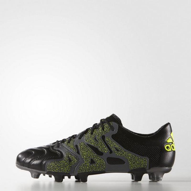 a3ba24af Adidas X 15.1 FG/AG Skinn Svart- Fotballsko.no - Sko fra Adidas, Nike og  Puma. Nor-Contact Sport