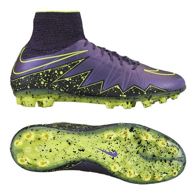 nike hypervenom phantom ii ag r electro flare pack no sko fra adidas og  puma nor con... FOTBALLSKO 91a7de315195c