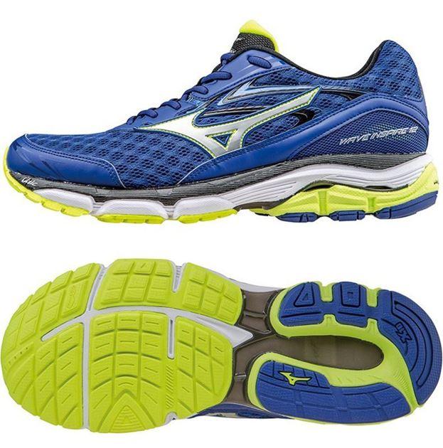 save off 5d8d8 08f18 mizuno wave inspire 12 blå gul no sko fra adidas nike og puma nor contact  sport. FOTBALLSKO