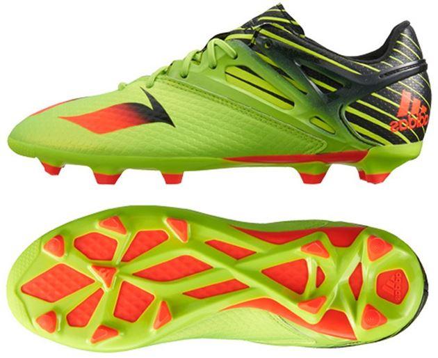 sale retailer dd80d 5c628 ... new style adidas messi 15.1 fg ag grønn rød svart barn 74e8f 7b139