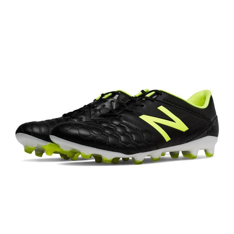 6fce64ed New Balance Visaro K-Leather Skinn Svart/Gul FG- Fotballsko.no - Sko fra  Adidas, Nike og Puma. Nor-Contact Sport