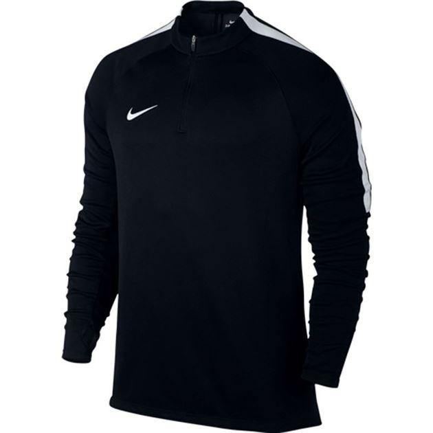 5c2030dd Nike Drill Top Squad Treningsgenser Svart/Hvit- Fotballsko.no - Sko ...