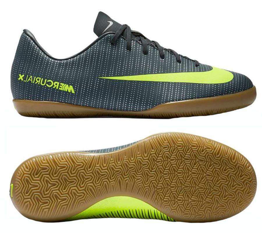 Nike Vaporx 12 Academy CR7 Kids Indoor Soccer Shoes .