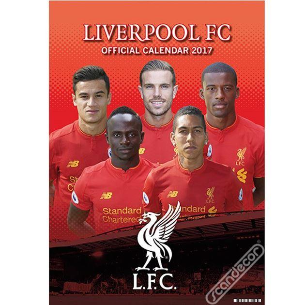 Bilde av Liverpool Kalender 2018