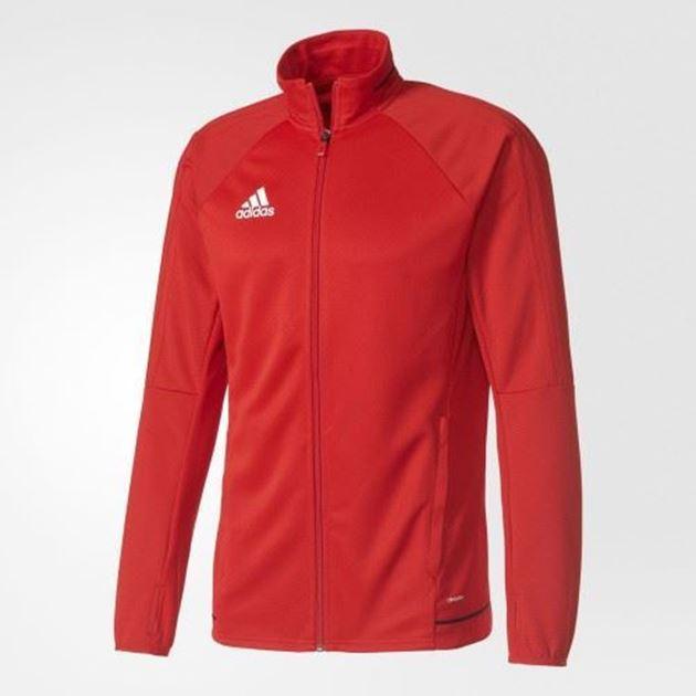 Adidas Tiro17 Trg Jakke Rød Barn