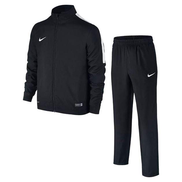 Bilde av Nike Academy 16 Woven Tracksuit 2 Svart/Hvit Barn TSLK