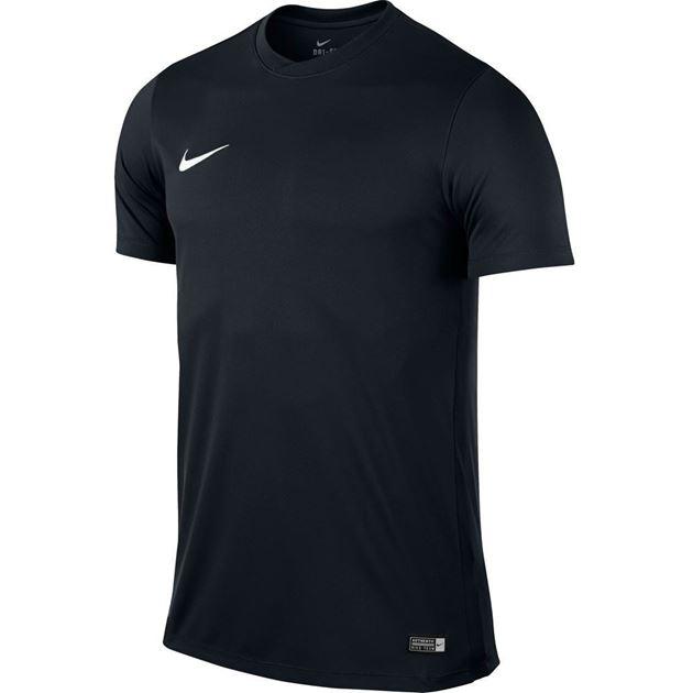 Bilde av Nike Park VI Treningstrøye Kort Arm Svart Barn TSLK