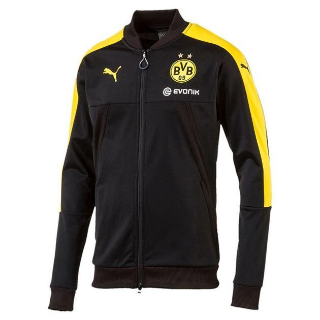 Bilde av Puma Borussia Dortmund Stadium Jacket Barn 17/18