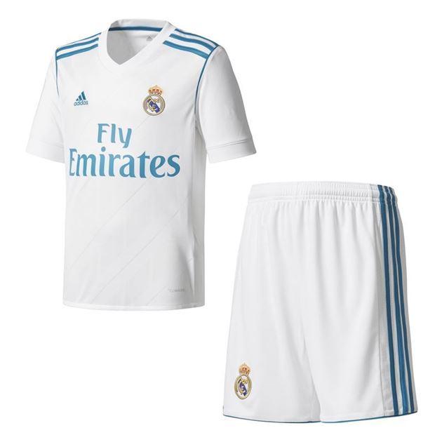 Bilde av Adidas Real Madrid Draktsett Hjemme Barn 17/18