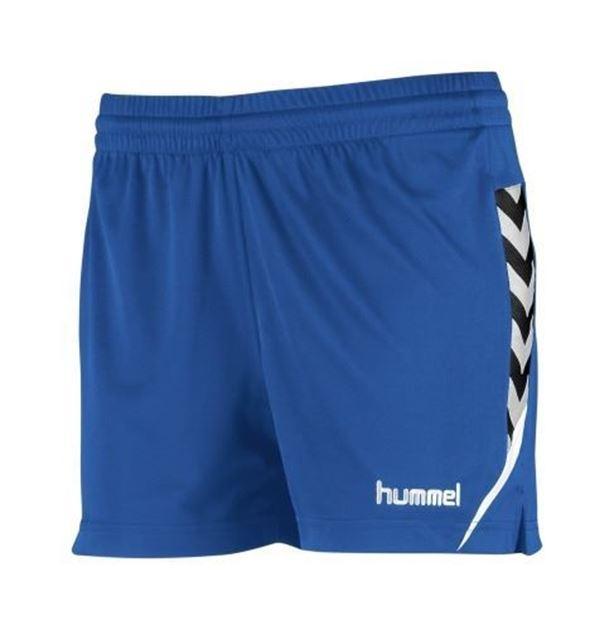 6493d5e0 Hummel Authentic Charge Shorts Dame Blå- Fotballsko.no - Sko fra ...