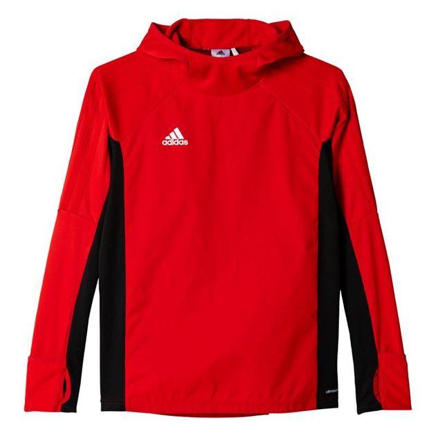 Bilde av Adidas Tiro 17 Warm Treningsgenser Rød Barn
