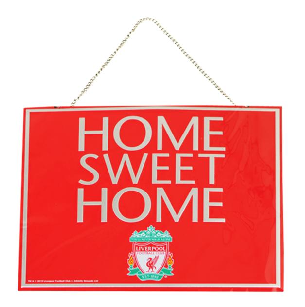 """Bilde av Liverpool FC """"Home Sweet Home"""" Skilt"""