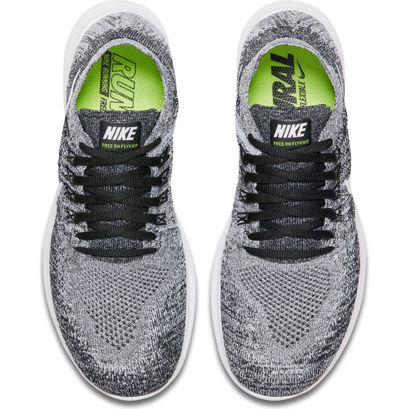 799b6165 Nike Free Run Flyknit Grå/Svart Dame- Fotballsko.no - Sko fra Adidas, Nike  og Puma. Nor-Contact Sport