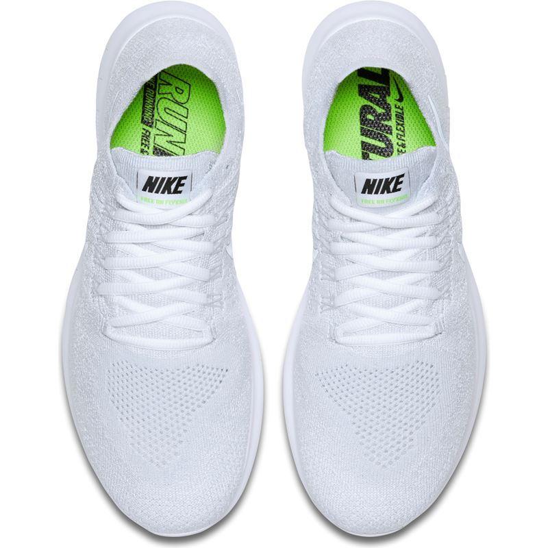 aba72cde Nike Free Run Flyknit Hvit Dame- Fotballsko.no - Sko fra Adidas, Nike og  Puma. Nor-Contact Sport
