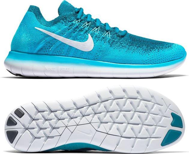 Bilde av Nike Free Run Flyknit Blå