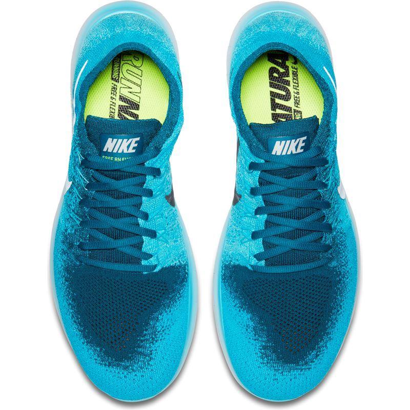 18947194 Nike Free Run Flyknit Blå- Fotballsko.no - Sko fra Adidas, Nike og Puma.  Nor-Contact Sport
