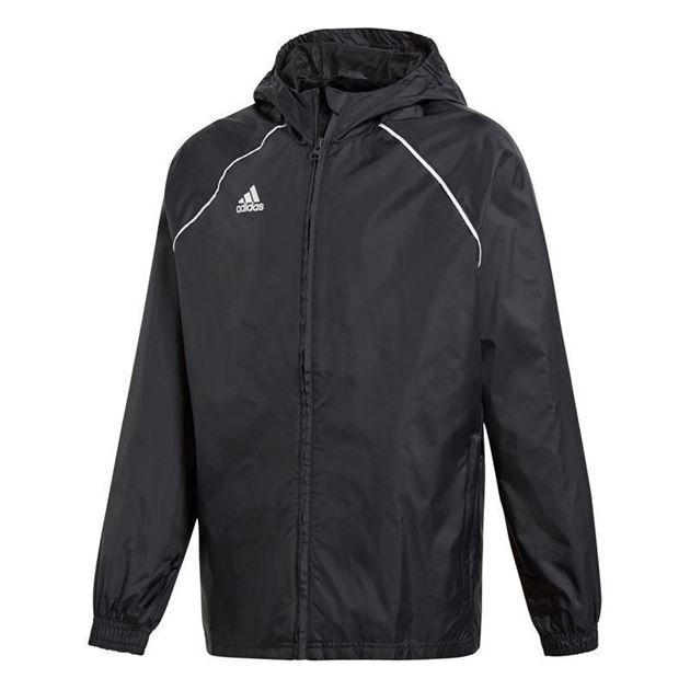 31c7dc1f Adidas Core 18 Regnjakke Svart Barn Utleira IL- Fotballsko.no - Sko ...