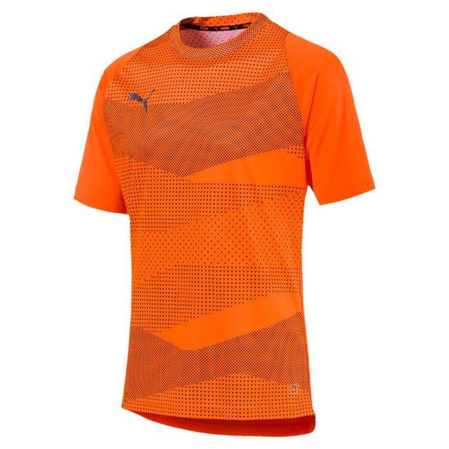 Bilde av Puma ftblNXT Graphic Core T-skjorte Oransje