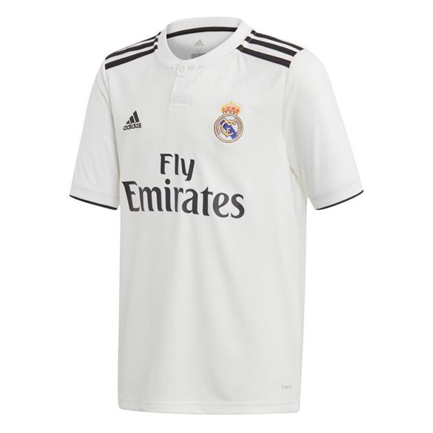 Bilde av Adidas Real Madrid Hjemmedrakt Barn 18/19