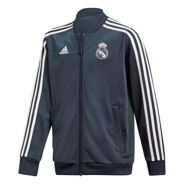 Bilde av Adidas Real Madrid Pes Treningsjakke Barn 18/19