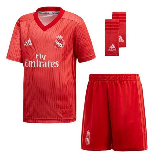 Bilde av Adidas Real Madrid Kit Tredjedrakt Barn 18/19