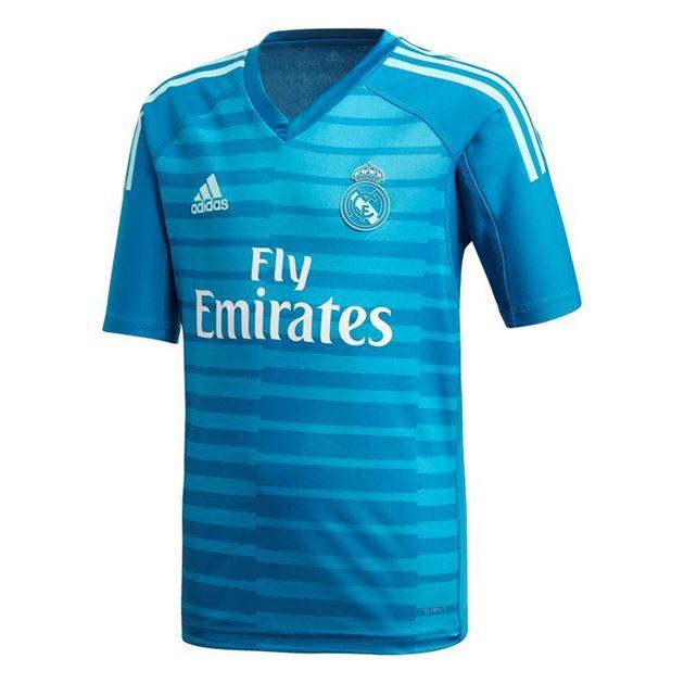 Bilde av Adidas Real Madrid Keepertrøye Borte Barn 18/19