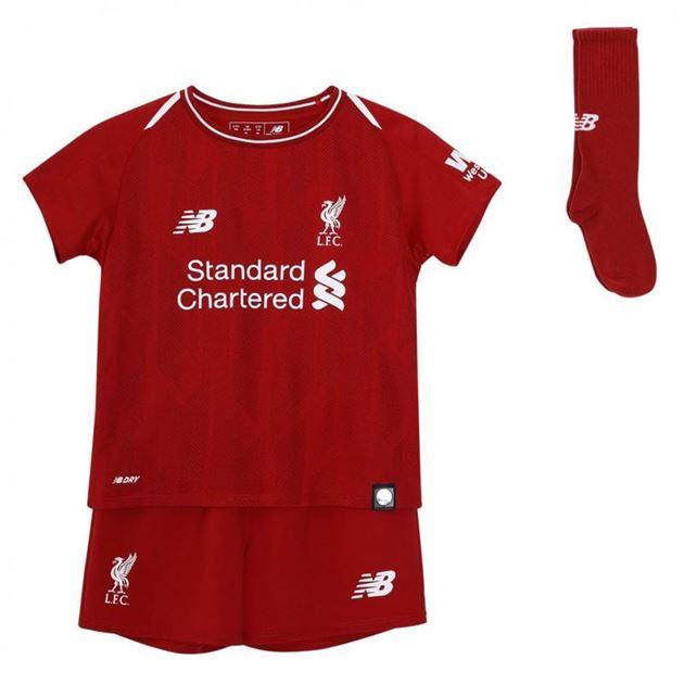 Bilde av New Balance Liverpool FC Draktsett Hjemme Små Barn 18/19