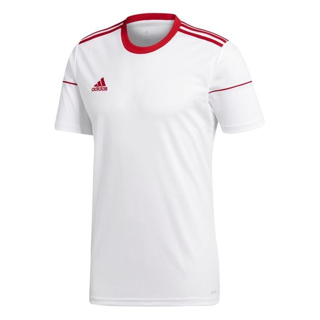 Bilde av Adidas Squadra 17 Spillertrøye Kort Arm Hvit/Rød