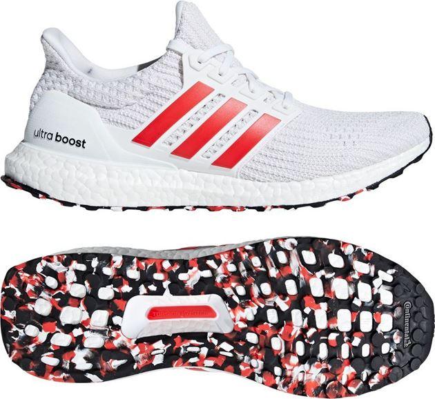 Bilde av Adidas Ultraboost Løpesko Hvit/Rød