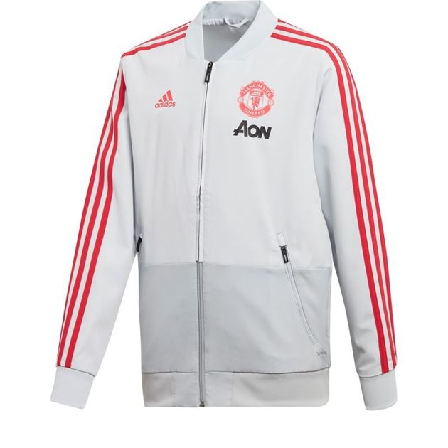 30a295dd Adidas Manchester United Presentasjonsjakke Barn 18/19- Fotballsko ...