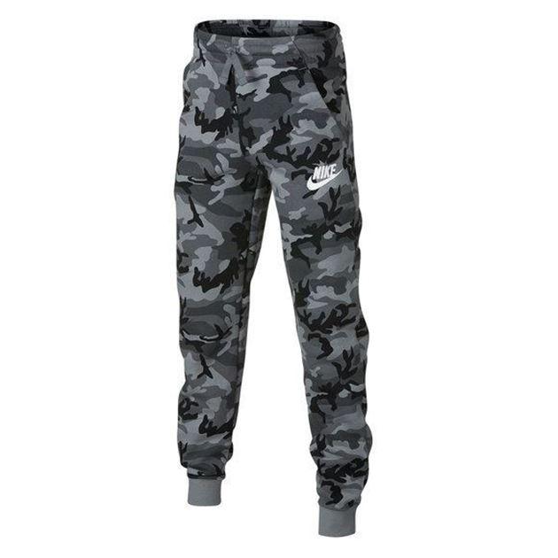 5069b24a Nike Sportswear Clubfleece Printed Joggebukse Barn- Fotballsko.no ...