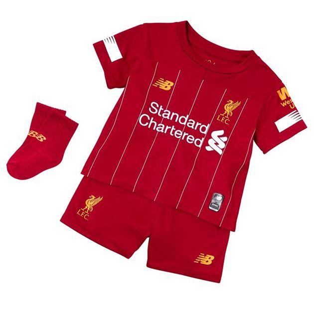Bilde av New Balance Liverpool FC Draktsett Hjemme Baby 19/20