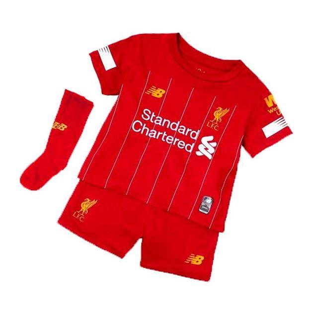 Bilde av New Balance Liverpool FC Draktsett Hjemme Barn 19/20