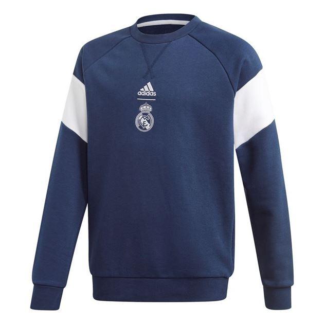 Bilde av Adidas Real Madrid Crew Sweatshirt Barn