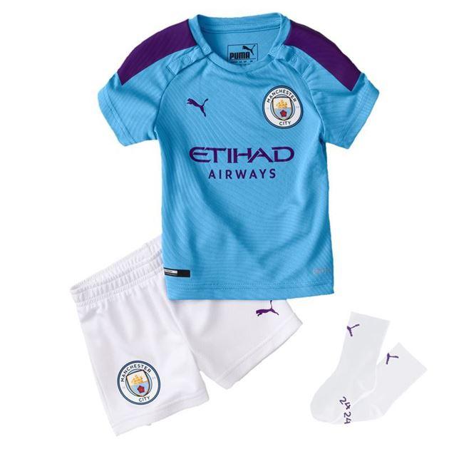Bilde av Puma Manchester City Draktsett Hjemme Små Barn 19/20