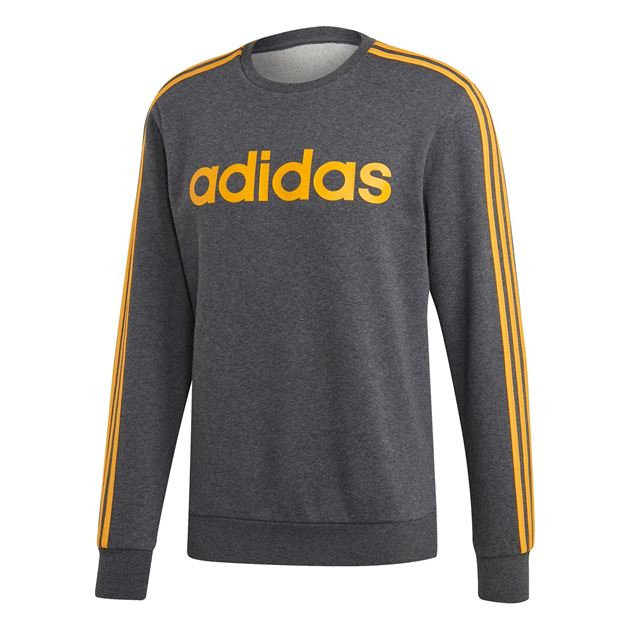Bilde av Adidas Essentials 3S Genser Mørk Grå