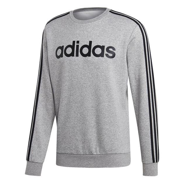 Bilde av Adidas Essentials 3S Genser Grå