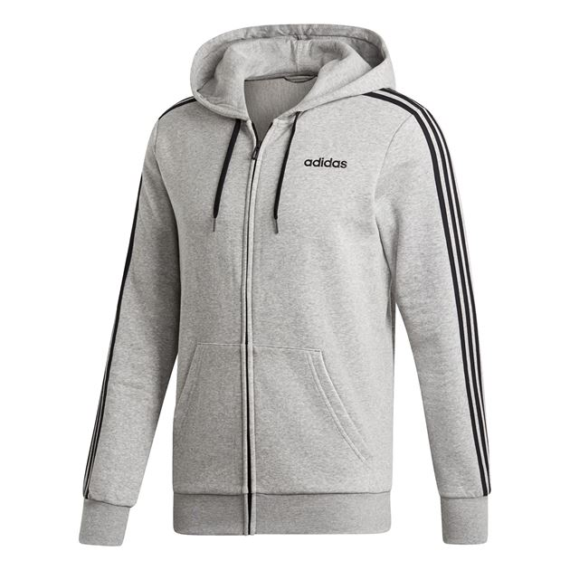 Bilde av Adidas Essentials 3S Hettejake Grå