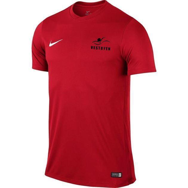 Bilde av Nike Park VI Treningstrøye Rød Barn Vestbyen Svømming