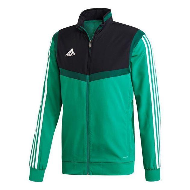 Bilde av Adidas Tiro 19 Presentasjonsjakke Grønn Heimdal Fotball