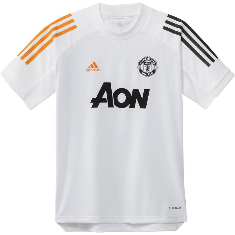 Manchester United Treningstrøye T skjorte Adidas