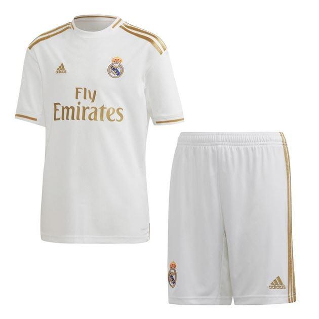 Bilde av Adidas Real Madrid Draktsett Hjemme Barn 19/20
