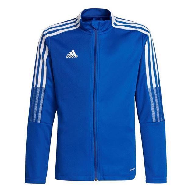 Bilde av Adidas Tiro 21 Treningsjakke Blå Barn Kattem Håndball