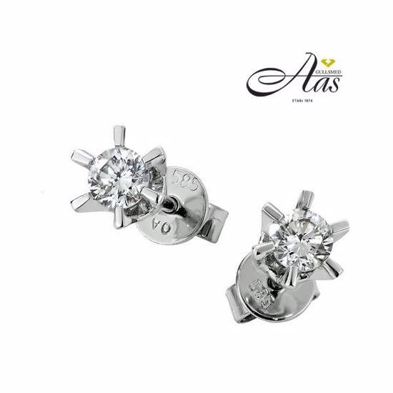 Bilde av Sofia diamant øredobber med  2/0,50 ct W-Si-2120750