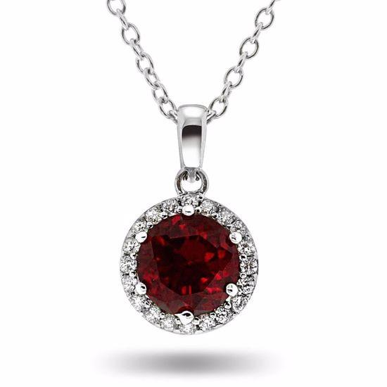 Smykke i sølv med zirkonia - 945721