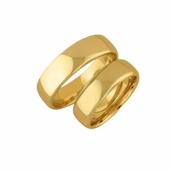Gifteringer i gull 14kt, 5 mm. OREST – 1450