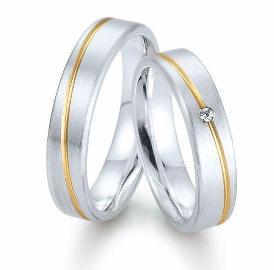 Gifteringer i sølv, 5 mm. GETTMANN -831650